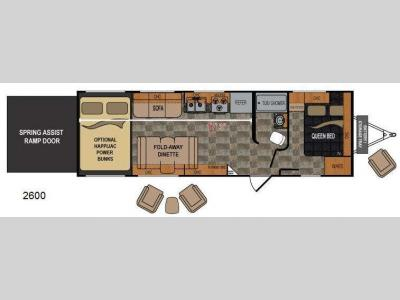Floorplan - 2013 Dutchmen RV Rubicon 2600