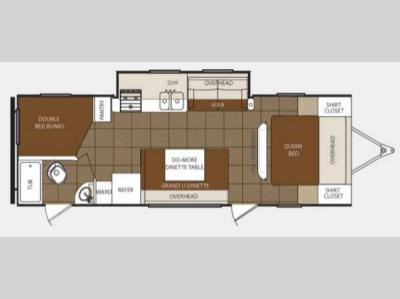 Floorplan - 2013 Prime Time Manufacturing Tracer 2900BHS