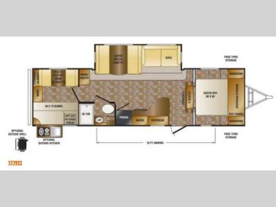 Floorplan - 2013 CrossRoads RV Sunset Trail Reserve ST29SS