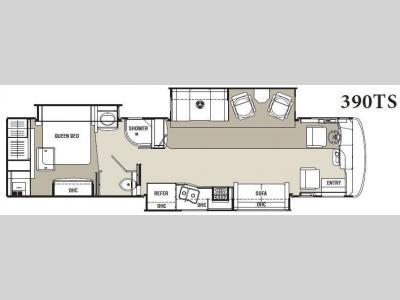 Floorplan - 2013 Coachmen RV Sportscoach Cross Country 390TS
