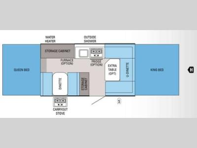 Floorplan - 2013 Jayco Jay Series 1207