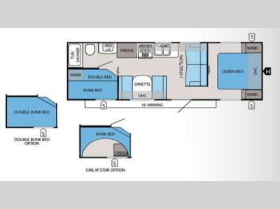 Floorplan - 2013 Jayco Jay Flight 26BH
