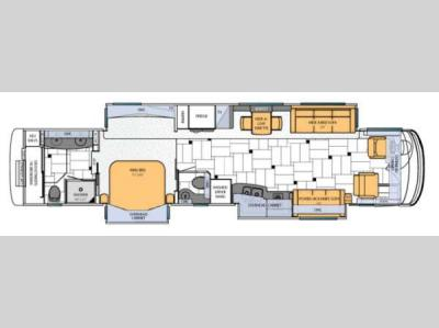 Floorplan - 2013 Newmar King Aire 4584