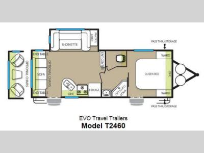 Floorplan - 2013 Forest River RV Stealth EVO 2460