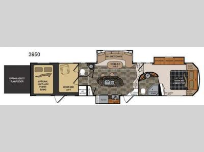Floorplan - 2013 Dutchmen RV Voltage V3950