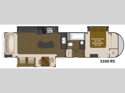 Floorplan - 2013 Heartland Gateway 3200 RS