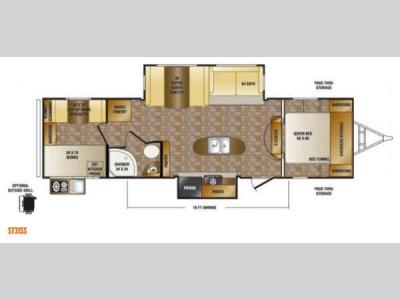 Floorplan - 2013 CrossRoads RV Sunset Trail Reserve ST31SS