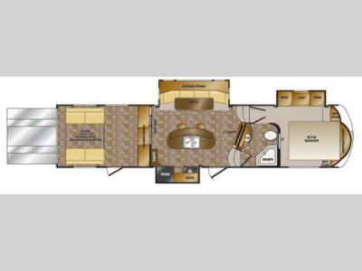 Floorplan - 2014 CrossRoads RV Elevation TF 3612