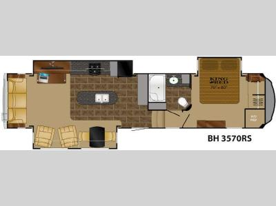Floorplan - 2014 Heartland Bighorn 3570RS