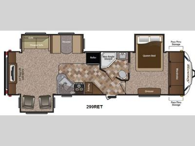 Floorplan - 2014 Keystone RV Sprinter 299RET