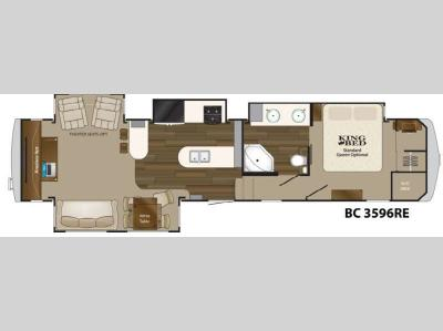 Floorplan - 2014 Heartland Big Country 3596 RE