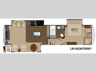 Floorplan - 2014 Heartland Landmark Monterey