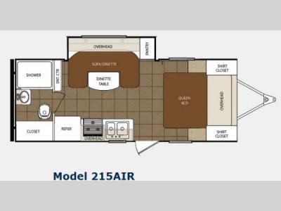 Floorplan - 2014 Prime Time Manufacturing Tracer 215AIR