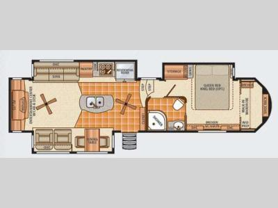 Floorplan - 2013 Dynamax Trilogy 3650RE