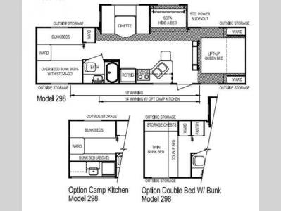 Floorplan - 2014 Skyline Nomad Joey Select 298