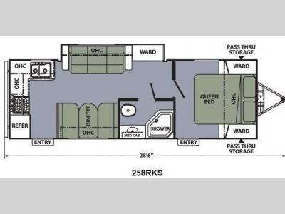 Floorplan - 2014 Coachmen RV Apex Ultra-Lite 258RKS