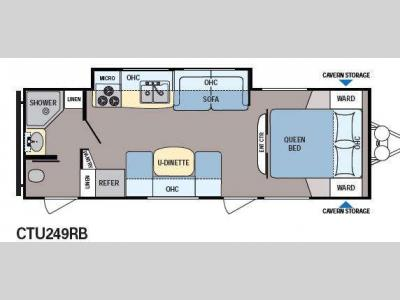Floorplan - 2014 Dutchmen RV Coleman Explorer CTU249RB