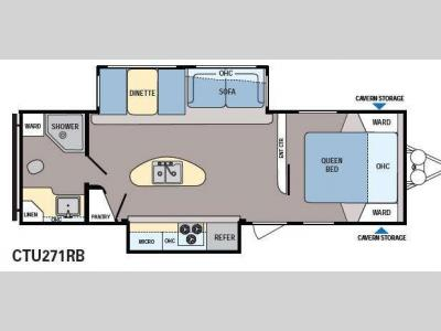 Floorplan - 2014 Dutchmen RV Coleman Explorer CTU271RB
