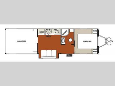 Floorplan - 2014 Forest River RV Work and Play 30WRS