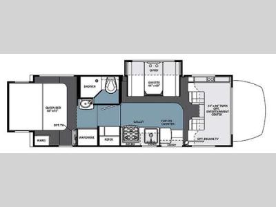 Floorplan - 2014 Forest River RV Solera 24R