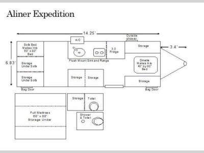 Floorplan - 2014 ALiner Expedition Expedition