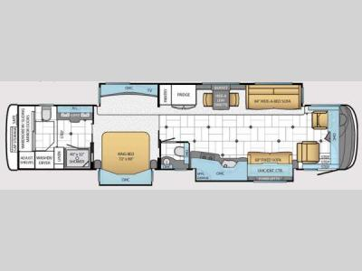 Floorplan - 2014 Newmar Essex 4553