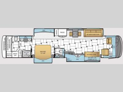 Floorplan - 2014 Newmar King Aire 4593