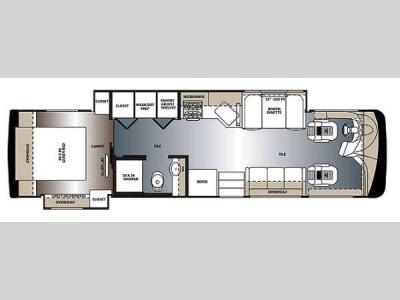 Floorplan - 2014 Forest River RV Legacy SR 300 340KP