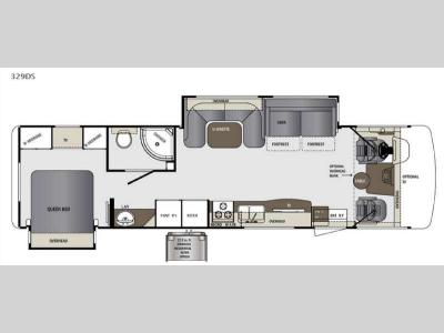 Floorplan - 2015 Forest River RV Georgetown 329DSF