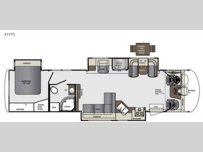 Floorplan - 2015 Forest River RV Georgetown XL 377TSF
