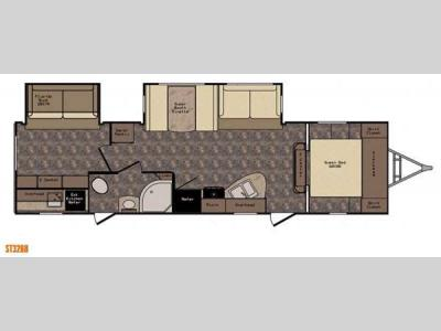 Floorplan - 2015 CrossRoads RV Sunset Trail Reserve ST32BH