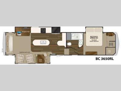 Floorplan - 2015 Heartland Big Country 3650 RL