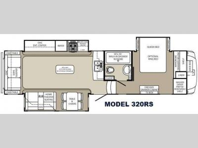 Floorplan - 2015 Palomino Columbus F320RS