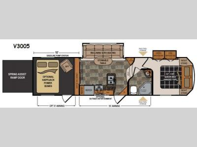 Floorplan - 2014 Dutchmen RV Voltage V-Series V3005 V Series