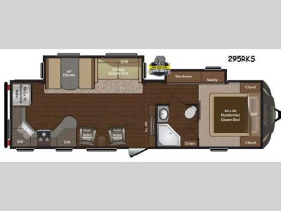 Floorplan - 2015 Keystone RV Sprinter 295RKS