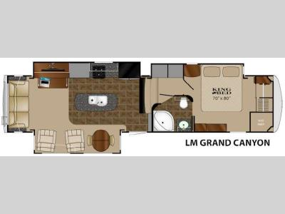 Floorplan - 2015 Heartland Landmark Grand Canyon