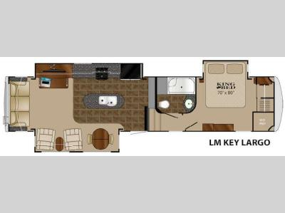 Floorplan - 2015 Heartland Landmark Key Largo