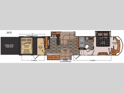 Floorplan - 2015 Dutchmen RV Voltage V3970