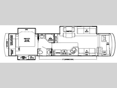 Floorplan - 2007 Newmar Dutch Star DSDP 4035
