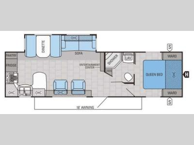 Floorplan - 2015 Jayco Jay Flight 29RKS