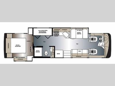 Floorplan - 2015 Forest River RV Legacy SR 300 340BH