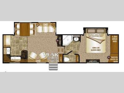 Floorplan - 2014 Northwood Arctic Fox 29-5K