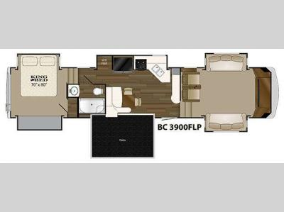 Floorplan - 2015 Heartland Big Country 3900 FLP