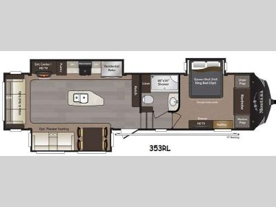 Floorplan - 2015 Keystone RV Montana High Country 353RL