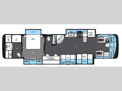 Floorplan - 2015 Forest River RV Berkshire 38A