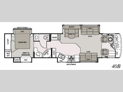 Floorplan - 2006 Mandalay Luxury Division Mandalay Class A 40B
