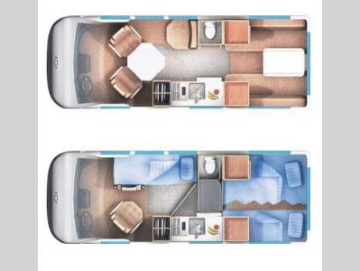 Floorplan - 2015 Roadtrek Popular 190