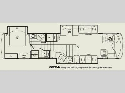 Floorplan - 2007 Damon Astoria 3774