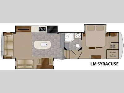 Floorplan - 2016 Heartland Landmark 365 Syracuse