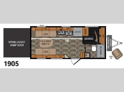 Floorplan - 2016 Dutchmen RV Rubicon 1905